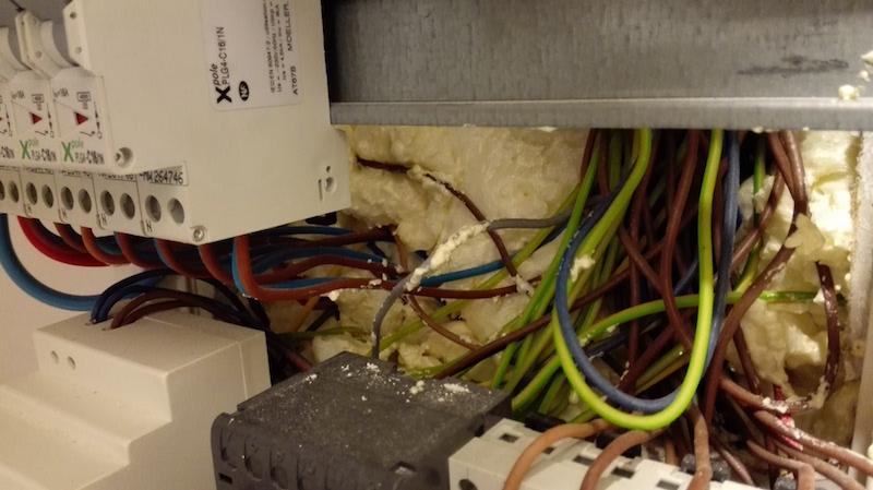 mauvais câblage électrique